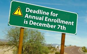 Deadline for Annual Enrollment