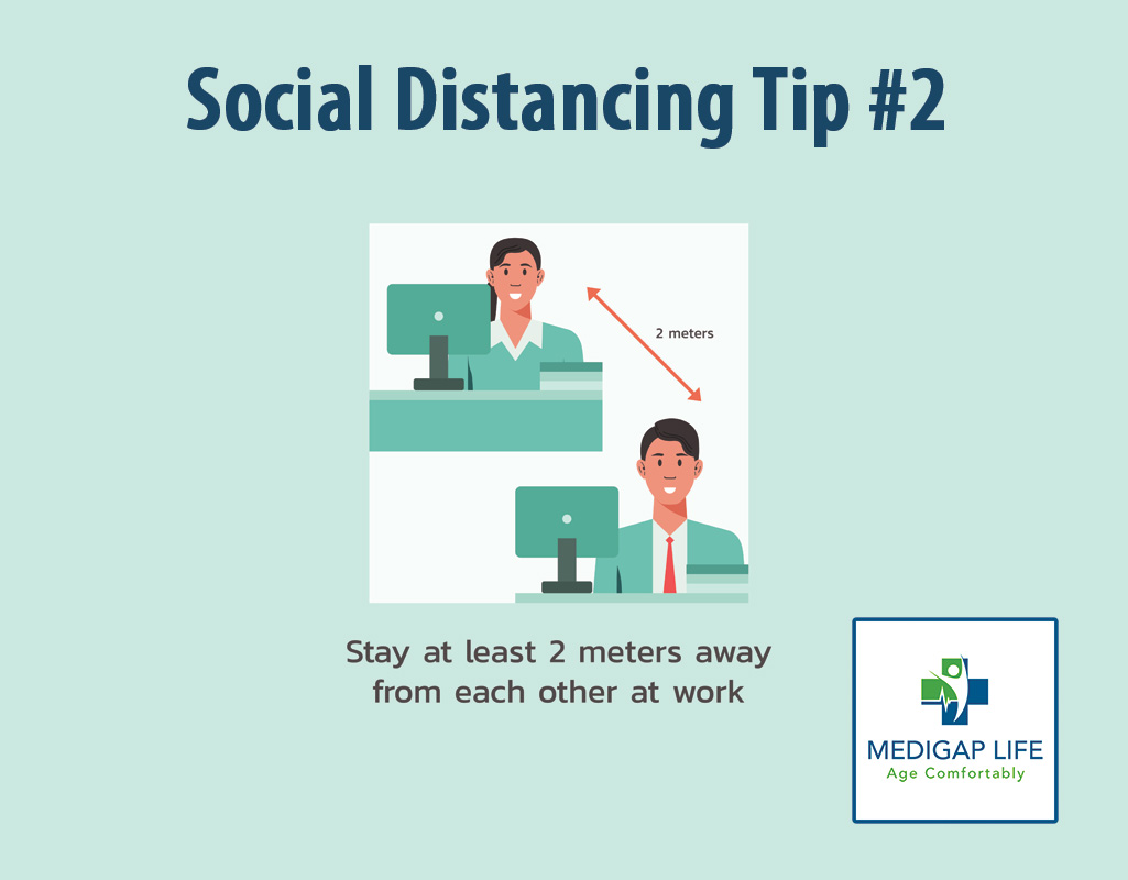 10 Tips for Social Distancing - Tip Number 2