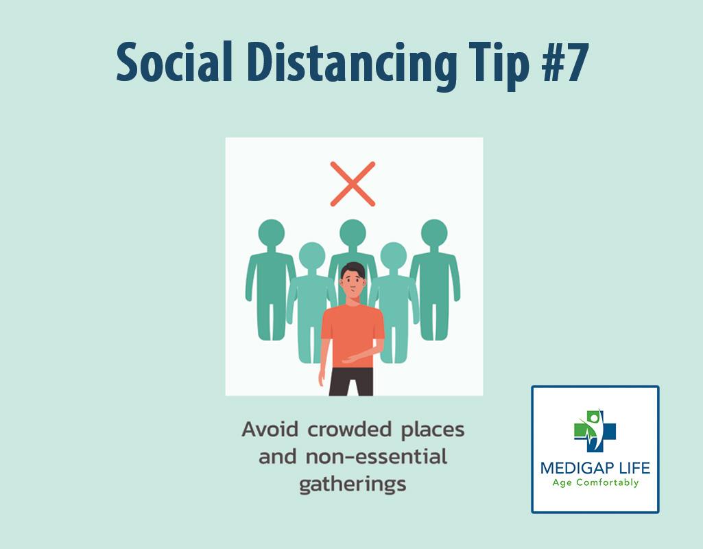 Social Distancing Tip 7